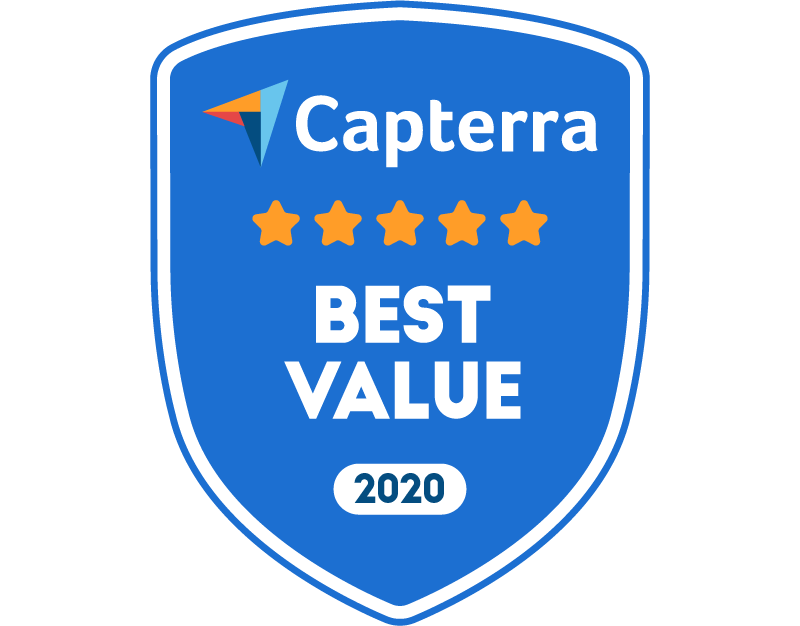 Capterra Best Value for e-Prescribing Mar-20